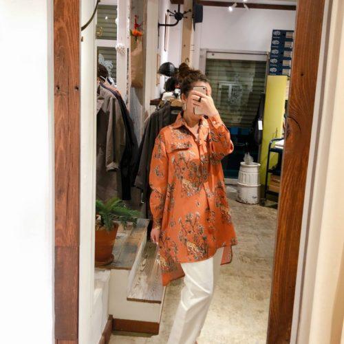 タイガーテキスタイルシャツ Paris MSH